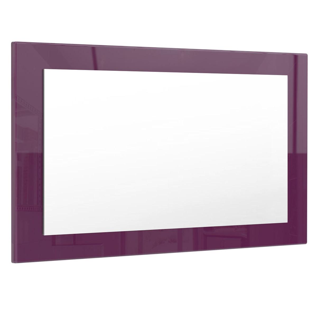 Wandspiegel-Spiegel-Lima-Flur-Diele-Hochglanz-Naturfarben-3-Groessen-16-Farben