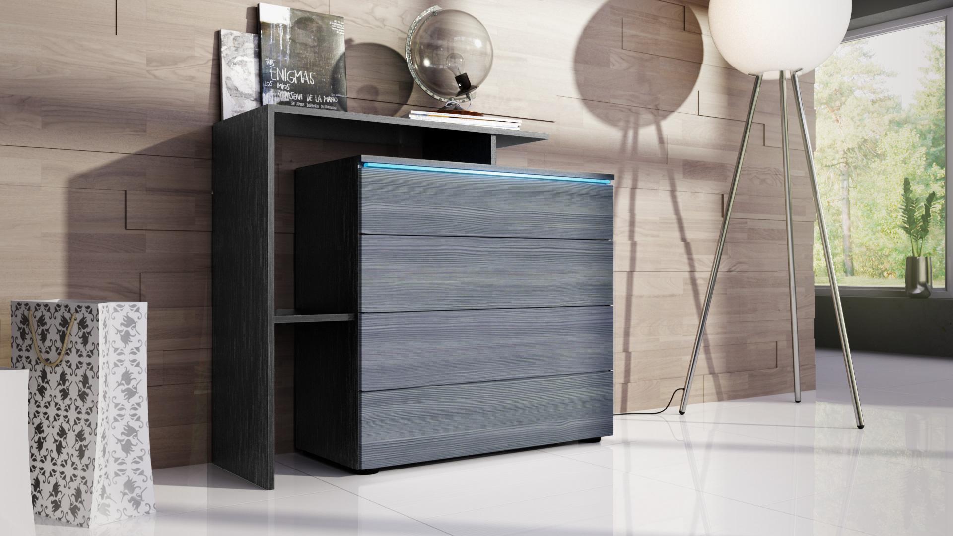 kommode schrank anrichte sideboard highboard m bel. Black Bedroom Furniture Sets. Home Design Ideas
