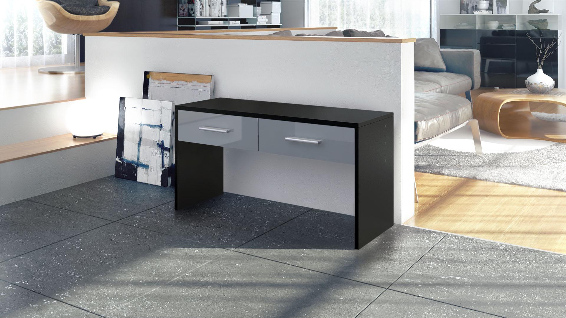 sitzbank schuhbank schemel garderobe hocker bank flurbank. Black Bedroom Furniture Sets. Home Design Ideas
