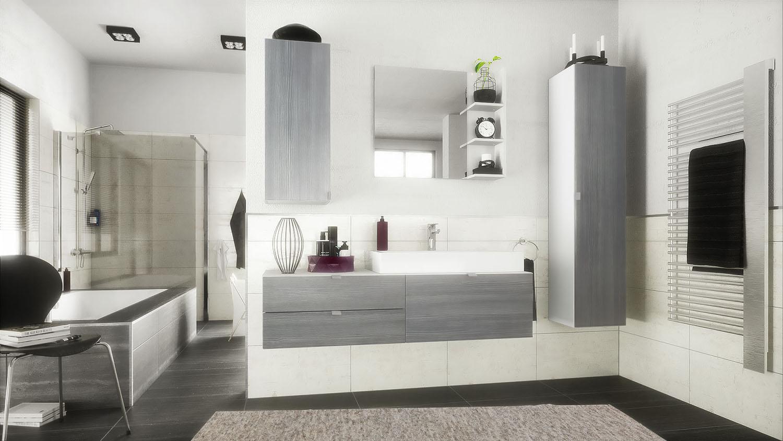 badezimmer set wei hochglanz h ngeschrank unterschrank badm bel spiegel maui ebay. Black Bedroom Furniture Sets. Home Design Ideas