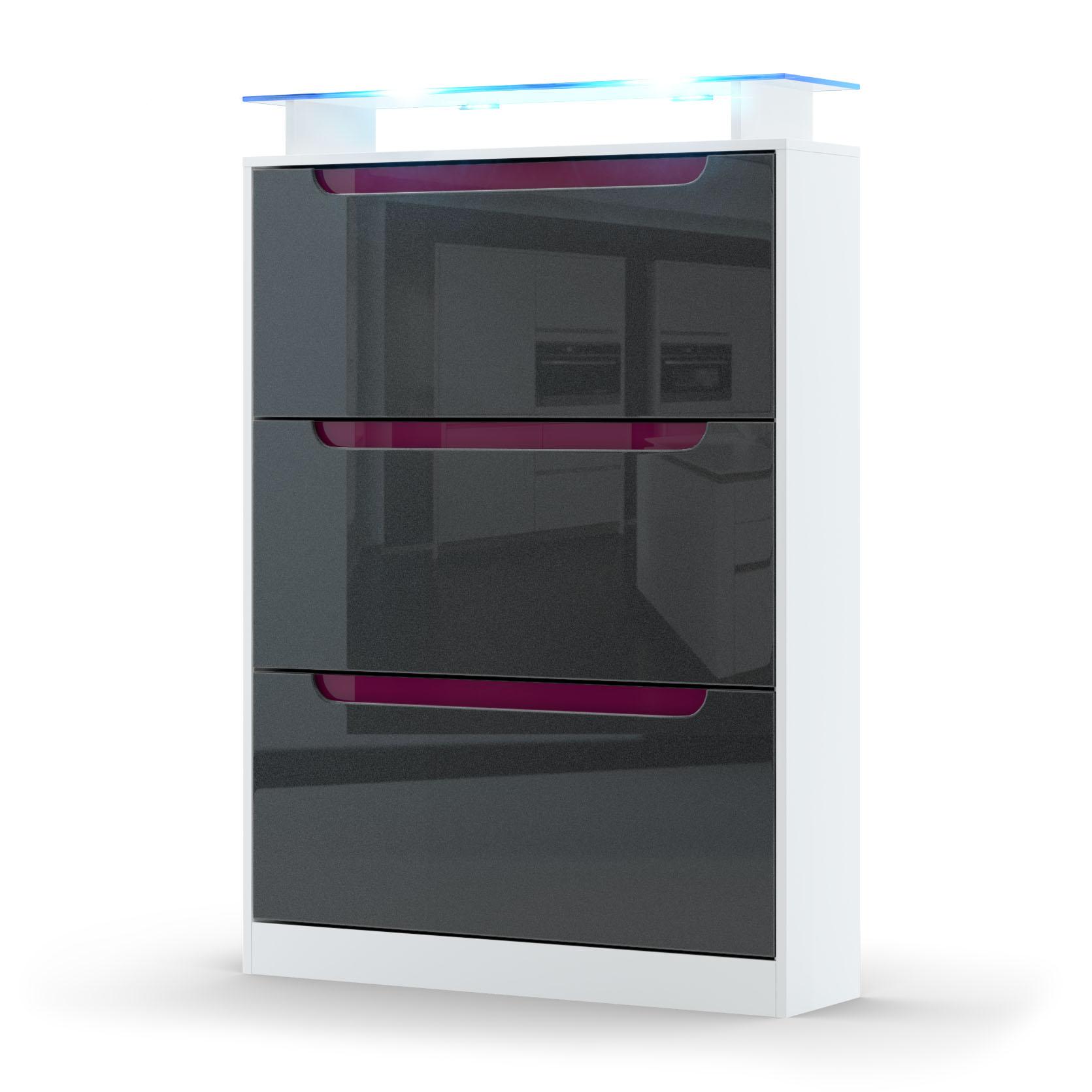 schuhschrank schuhkipper dielen flur schrank m bel regal. Black Bedroom Furniture Sets. Home Design Ideas